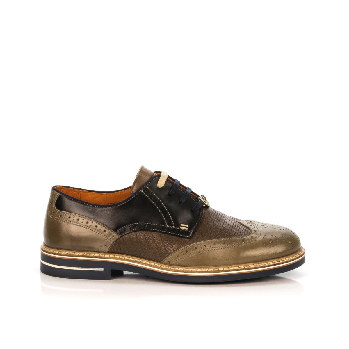 Ambitious Scarpa Stringata Taupe Shoecenter Uomo blu Pelle 6191 Marroni 8n0Nmvw