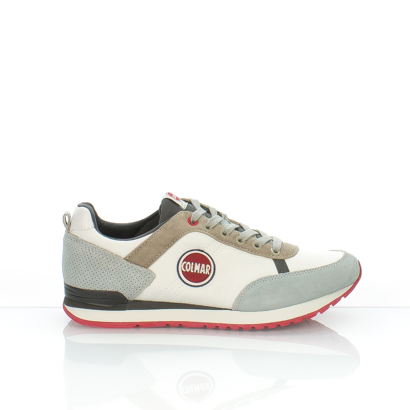 COLMAR SNEAKERS TRAVIS COLOR 106-125-61 TESSUTO BIANCO BEIGE · Quick view f7e23247671