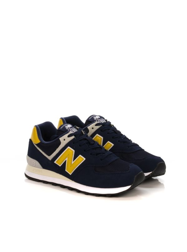 new balance uomo giallo blu