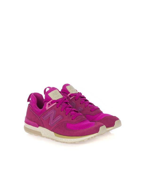 NEW BALANCE KFL574-HG|scarpa sportiva bambina|fuxia|Shop online ...