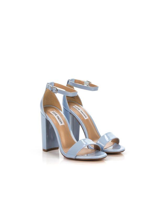 Donna Sandalo In Azzurra Steve Madden Da Smscarrson Vernice 3L5AjRcq4S