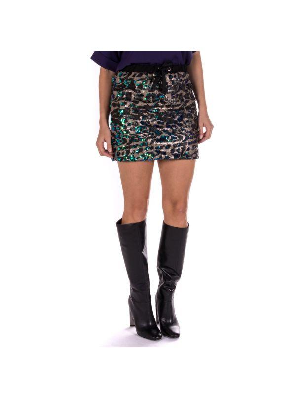selezione premium 903de 6105f Minigonna VICOLO|TJ0738 in paillettes multicolor|Shop online ...