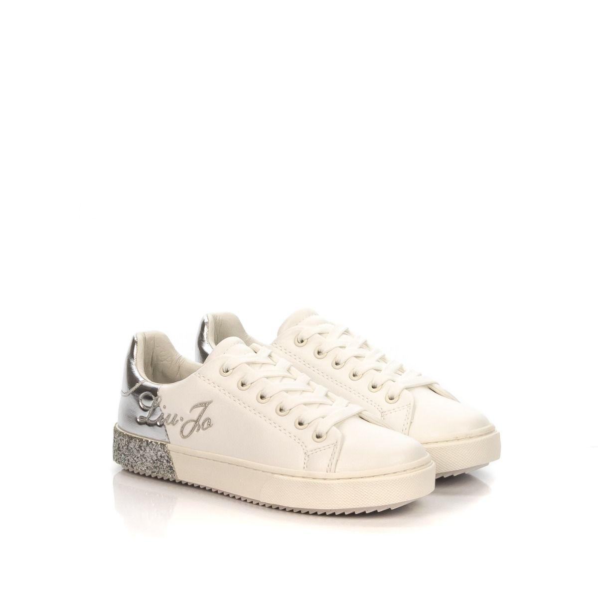electo motor Crudo  Sneakers bambina|LIU JO GIRL 00060 bianco-argento|Spedizione gratuita su  ordini superiori a € 79,00|Shop online|Shoe Center