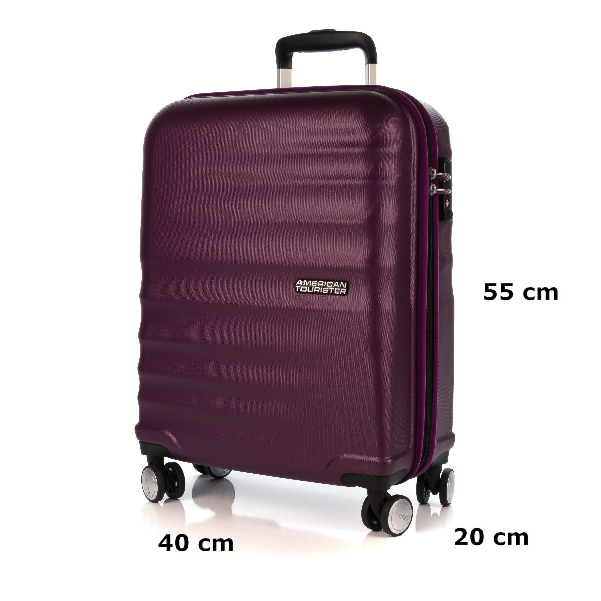 d200cc34ae8394 AMERICAN TOURISTER WAVEBREAKER 15G008-50|bagaglio a mano viola|Shoe  Center|Shop online