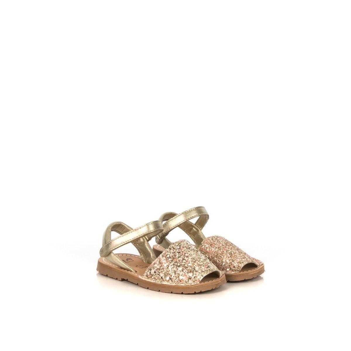 Menorca 20090 Online Shop Bambina Glitter Sandalo Rosa Ria Rdqhst 21224 JTK1F3lc