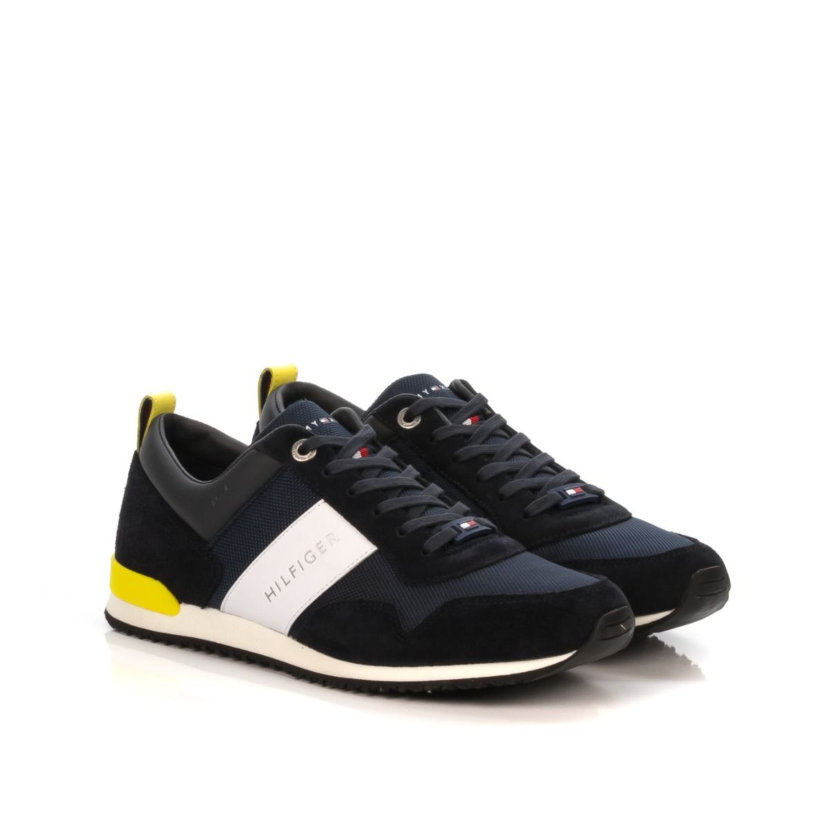 Sneakers uomo|TOMMY HILFIGER 2042 403 MAXWELL in camoscio e