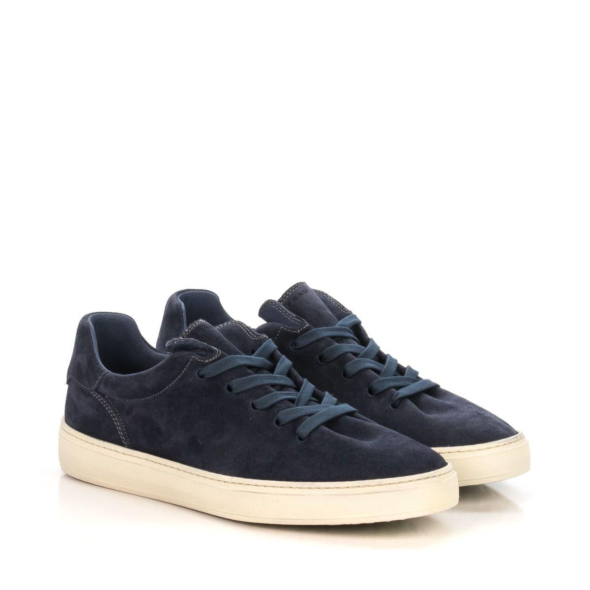 Blu Jeans Qaz00wxt Camoscio 28a8 In Spedizione Sneakers Frau Da Uomo PTkuZiOX