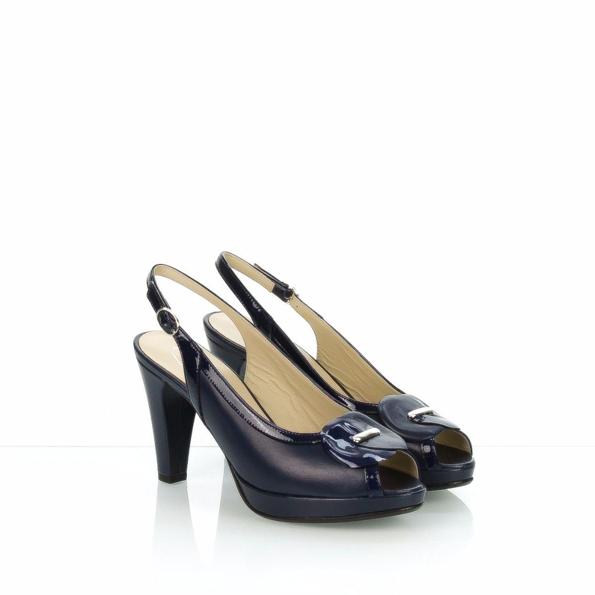 Sandalo 4081 Donna Blu Pelle Panizzolo Antonio Yb7gvf6y