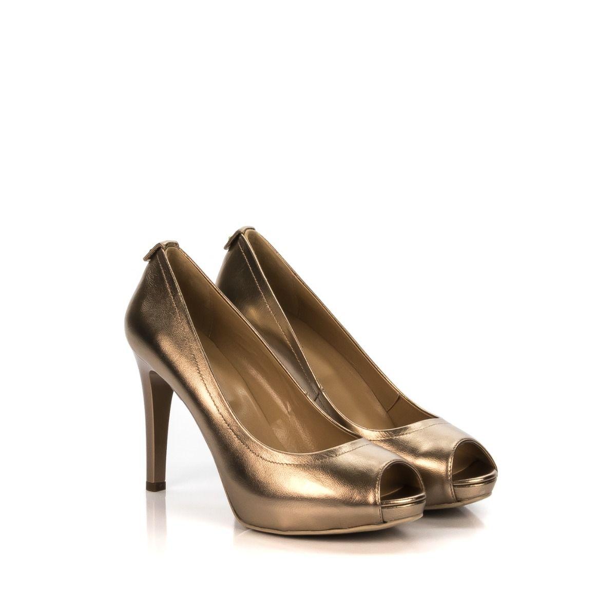 Decollete spuntata nero giardini 5411de 434 in pelle oro spedizione gratuita shop online shoe - Decollete beige nero giardini ...