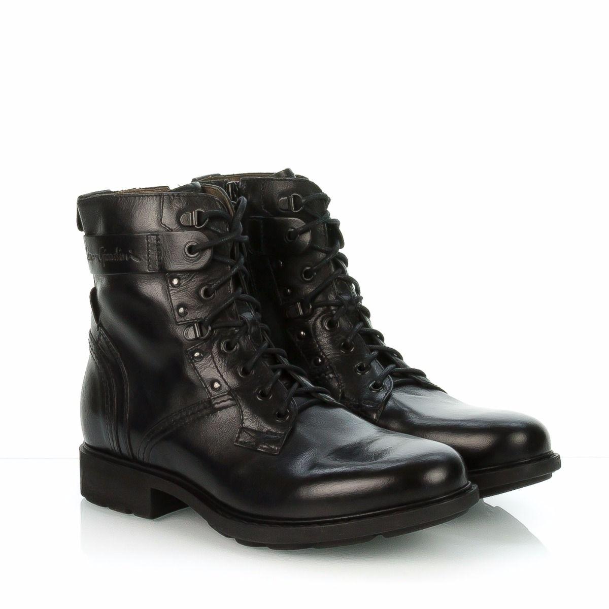Nero giardini anfibi uomo 5501u pelle nero spedizione gratuita shop online shoe center - Anfibi uomo nero giardini ...