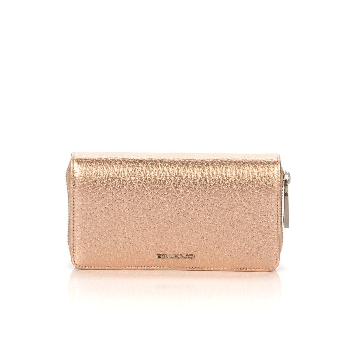 206354f4ff Portafoglio donna CROMIA 690 ARA in pelle laminata rosa |Spedizione  gratuita|Shop online|Shoe Center