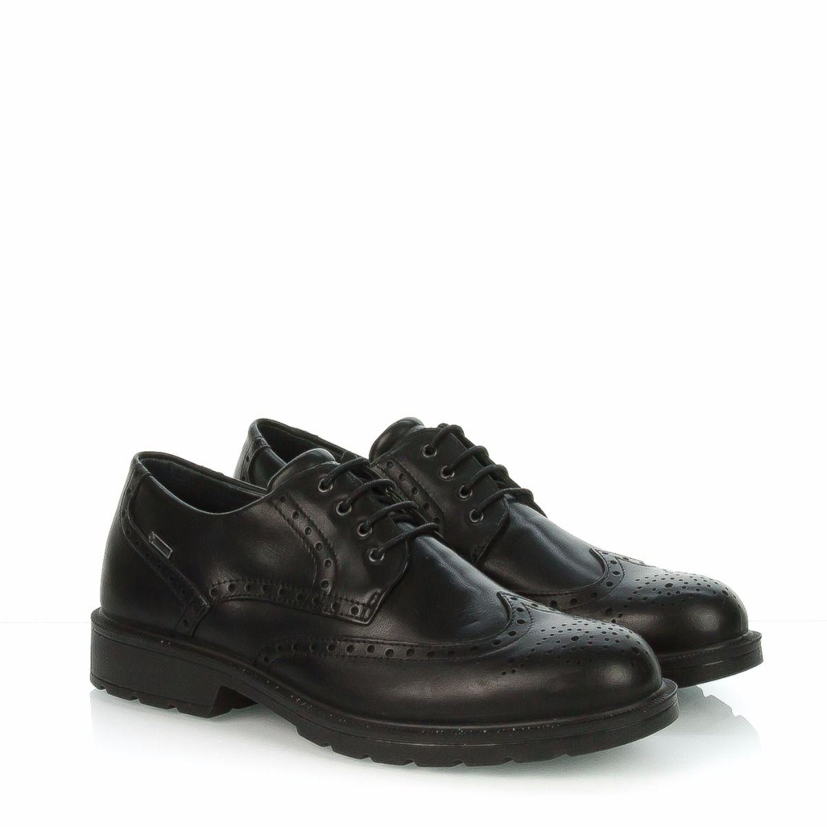 Scarpa stringata da uomo IGI CO 86750-00 in pelle nero inglese Gore-tex®   2872d246093