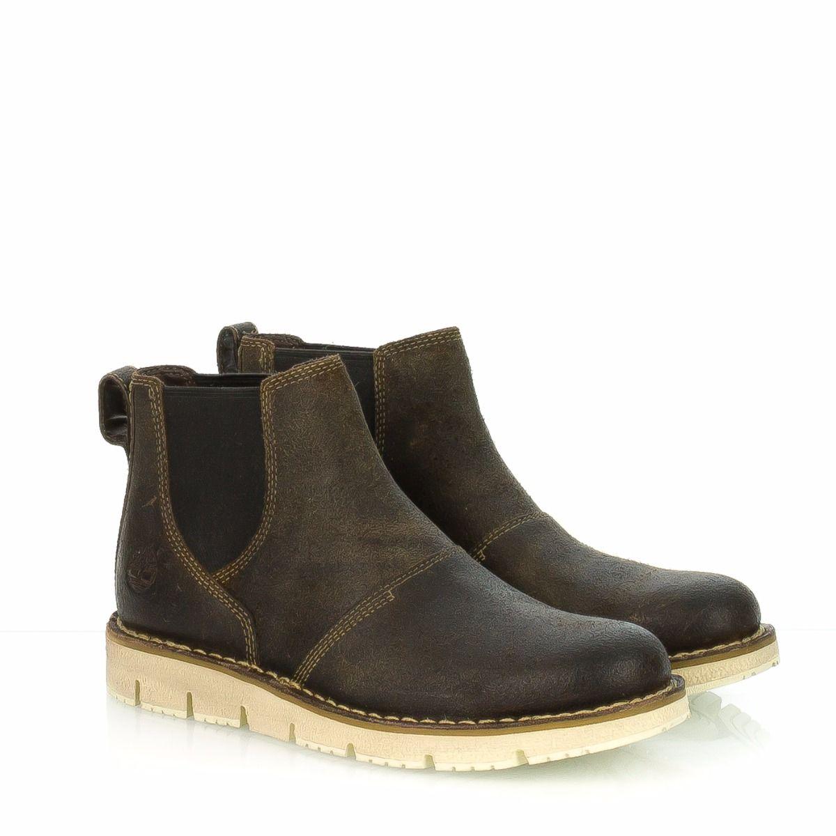 fed5b61cd6f8d7 Stivaletto da uomo TIMBERLAND A16EF pelle marrone |Spedizione gratuita|Shop  online|Shoe Center