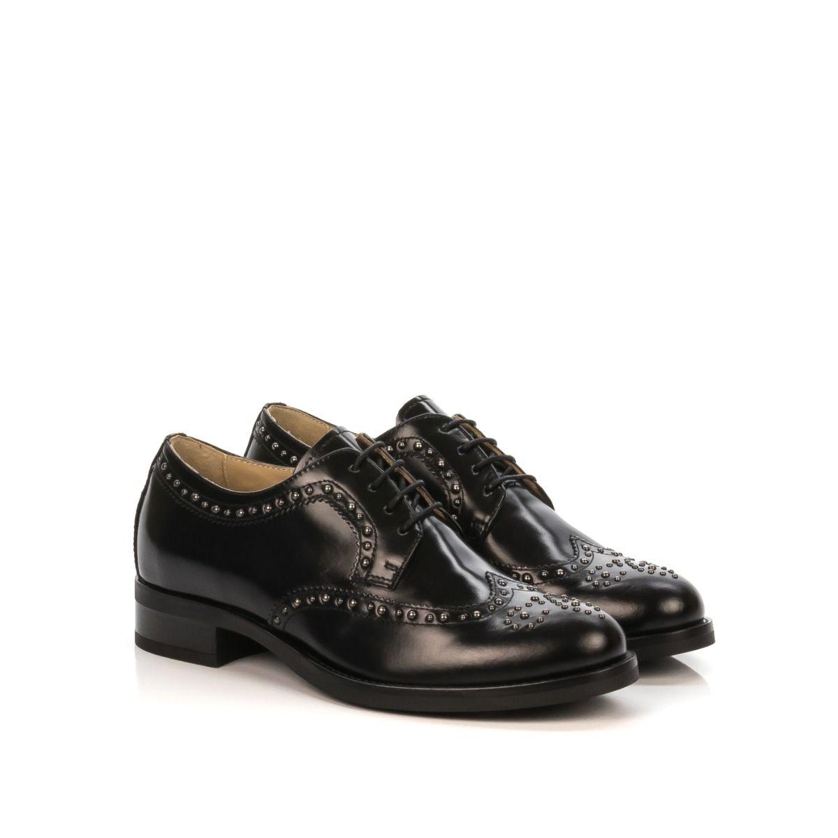 Nero Giardini scarpe stringate, Donna Stivaletti Nero