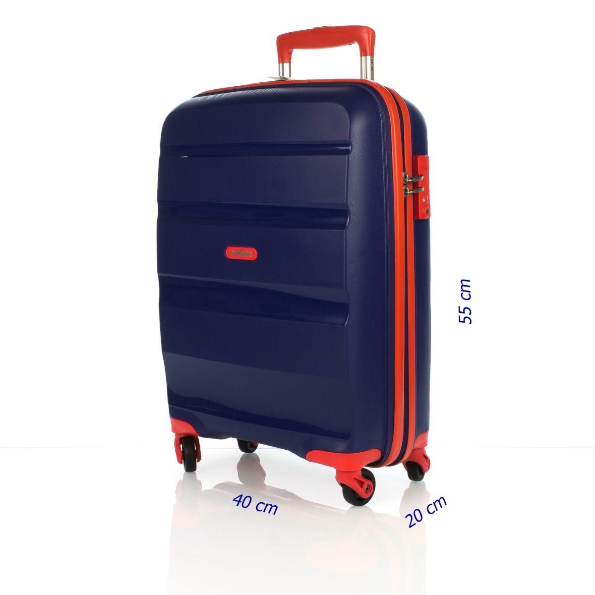 3d79cd4b1 AMERICAN TOURISTER BON AIR 85A 001 SPINNER 55 BLUE-ORANGE