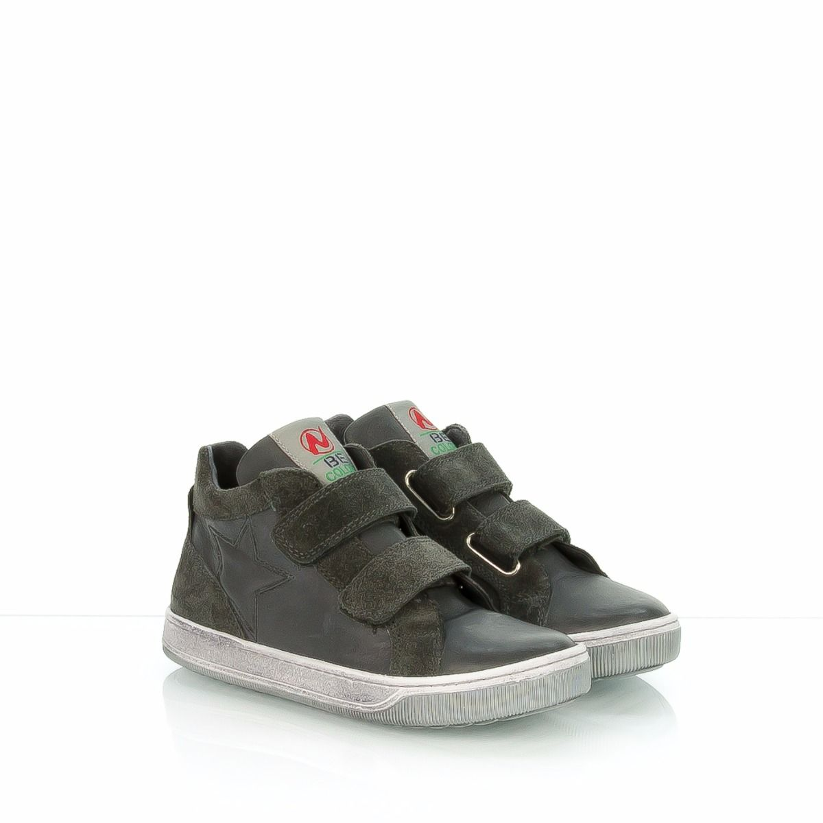Sneakers in pelle da bambino OiwuvL17