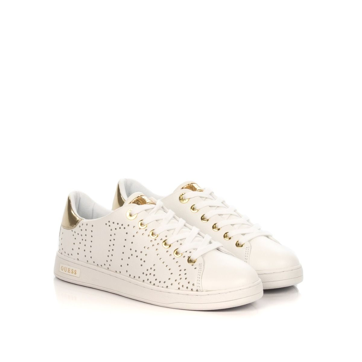 Sneakers Bianca Lea12 Con Donna Stelline guess Similpelle Fl5crt In j4SAc5RLq3