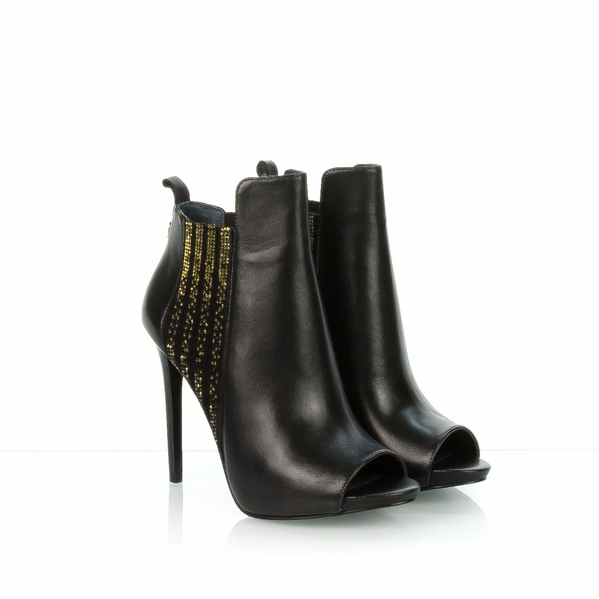 low priced cfaa8 9d669 GUESS TRONCHETTO DONNA FLABL3 NERO STRASS
