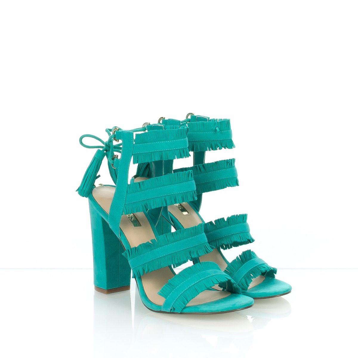 Guess Fleco1 Sandalo Donna Pon Turchese dtsQCxhrB
