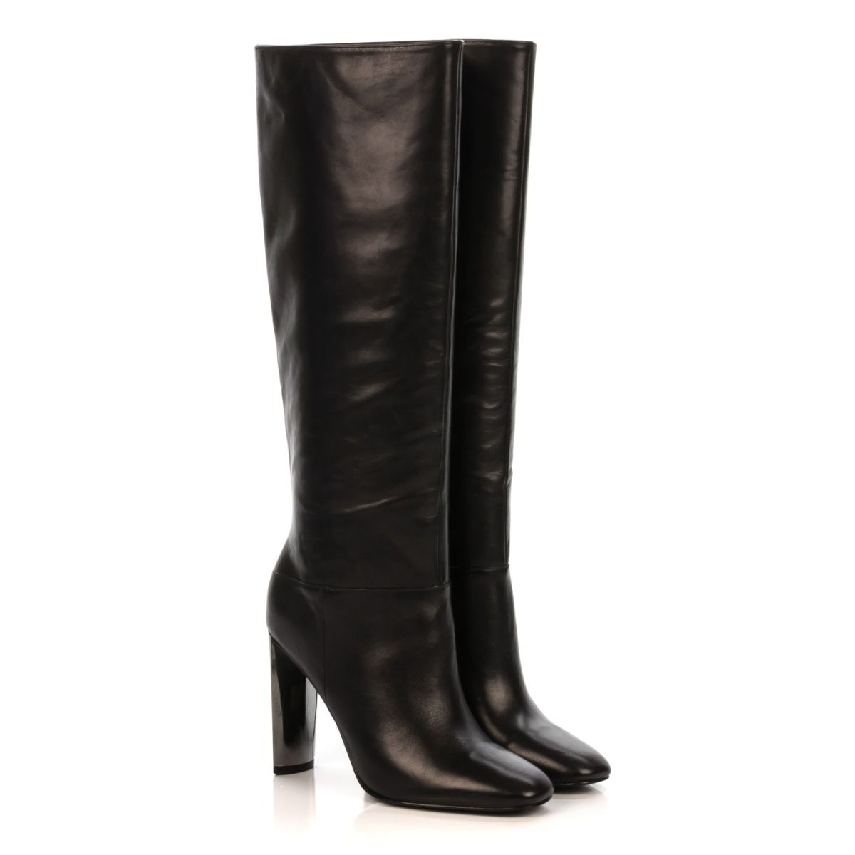 low priced 6d3be 779f2 GUESS STIVALE DONNA FLKCE4 LEA11 NERO TACCO ACCIAIO