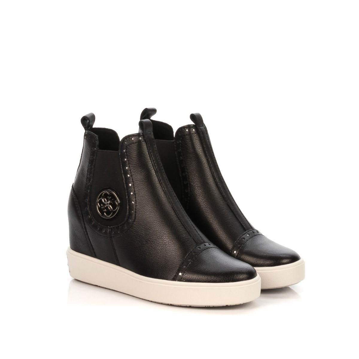GUESS BEATLES DONNA ZEPPA FRD3 NERO