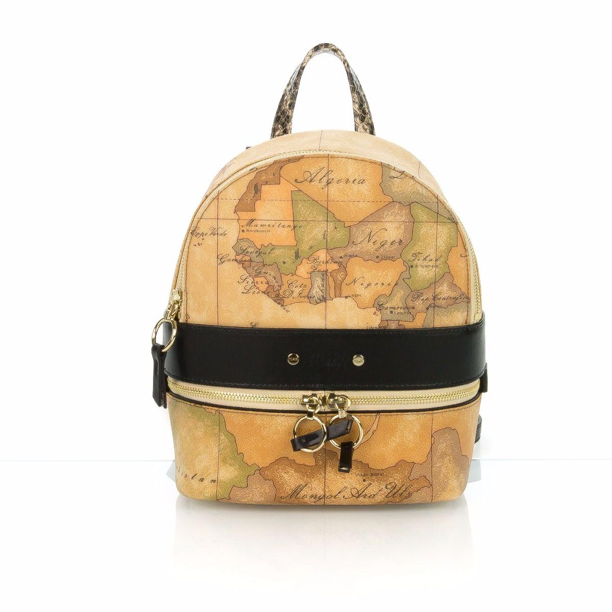 ff72f5648d Zainetto donna ALVIERO MARTINI 1^ CLASSE GI25G516-001 geo classic  nero|Spedizione gratuita|Shop online|Shoe Center