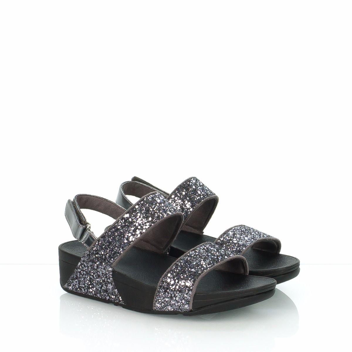 Grigio Glitterball Sandalo Donna H67 Fitflop KJcTFl1