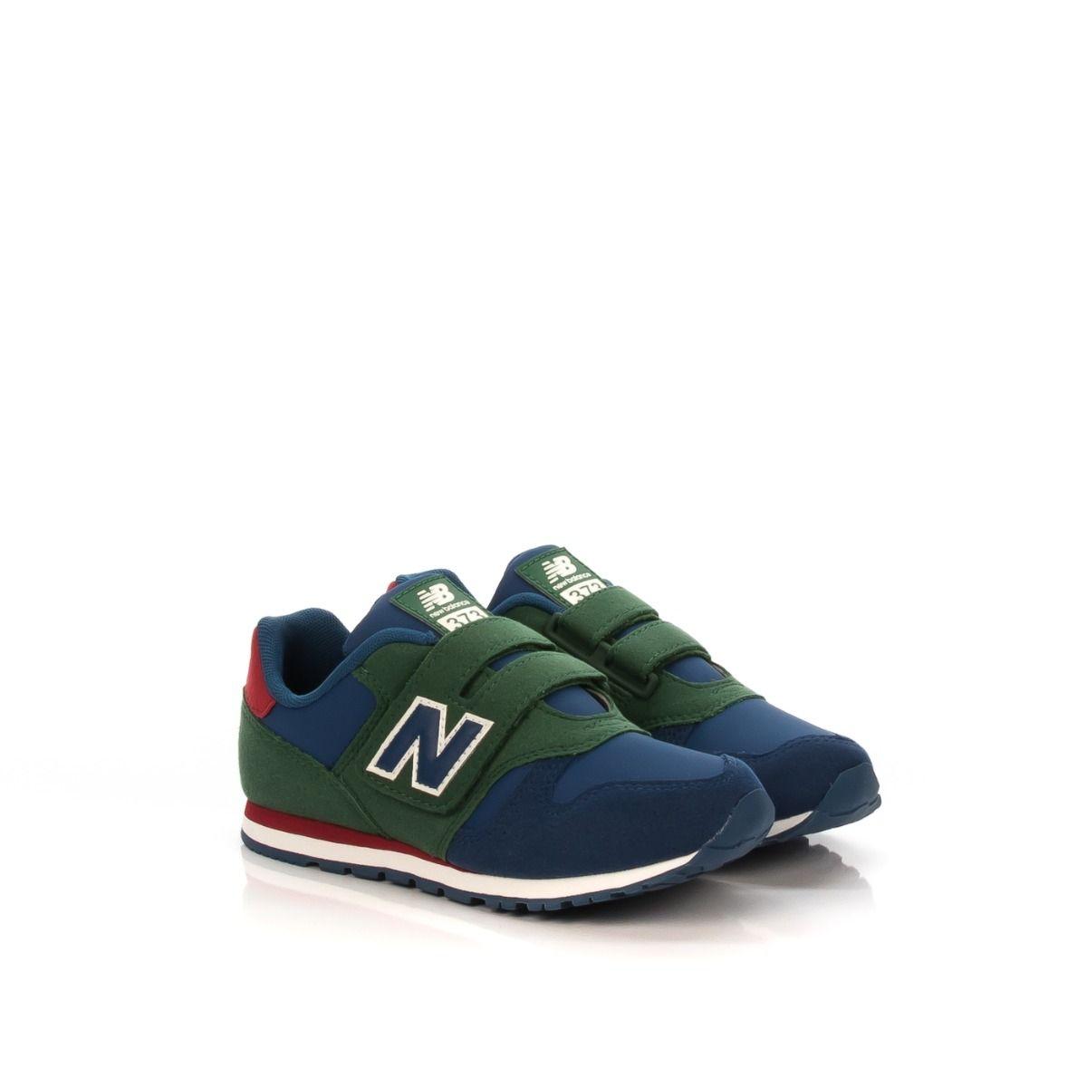 new balance verde e blu