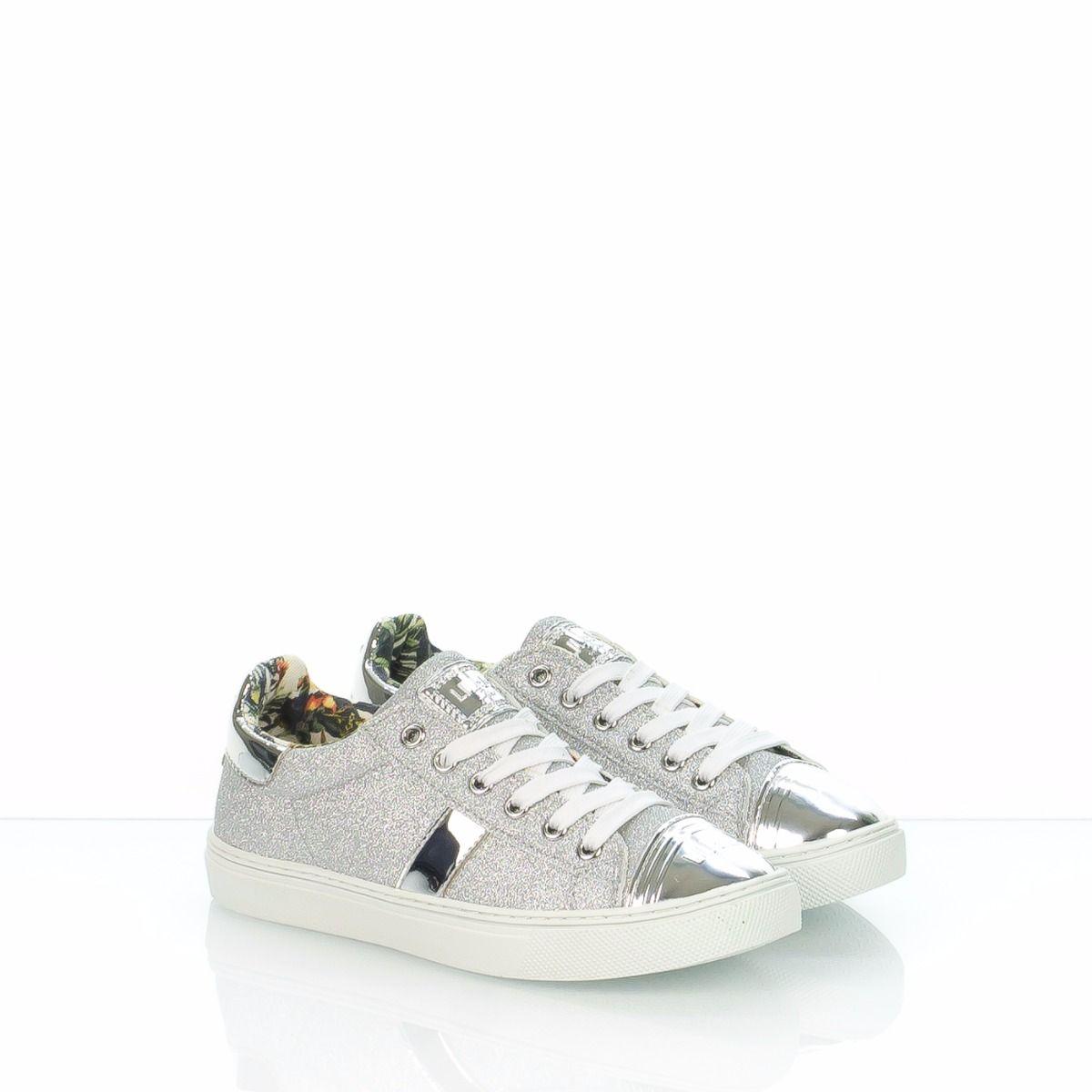 detailed look 8dc30 bee0d LIU JO 22922A|sneakers bambina|glitter|argento|Spedizione ...
