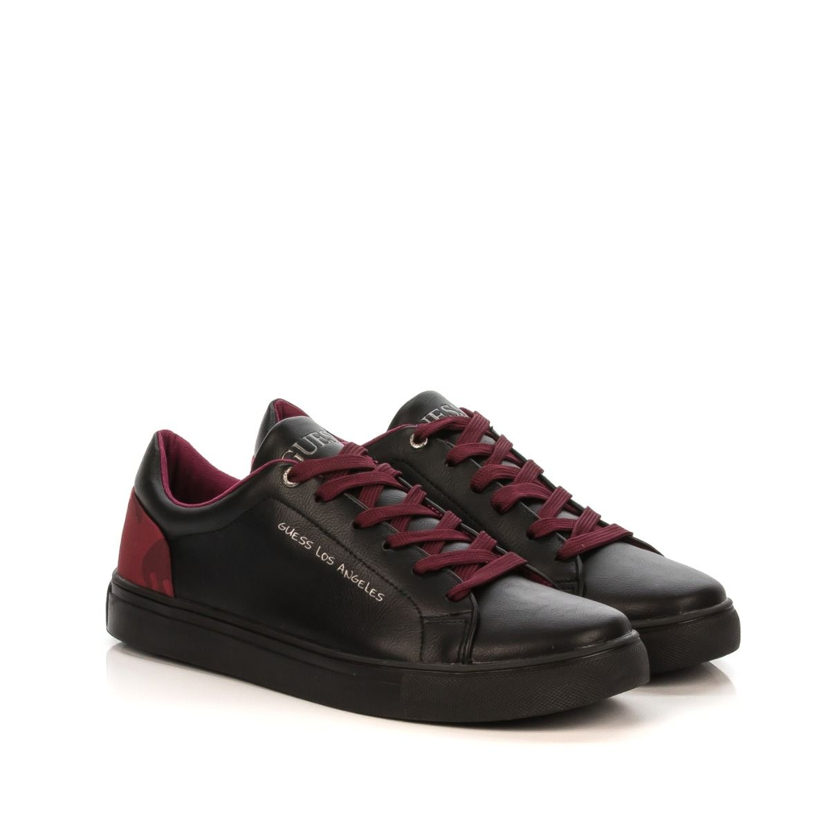 GUESS CRL3|sneakers uomo|camoscio nero|Shoe Center|Shop online