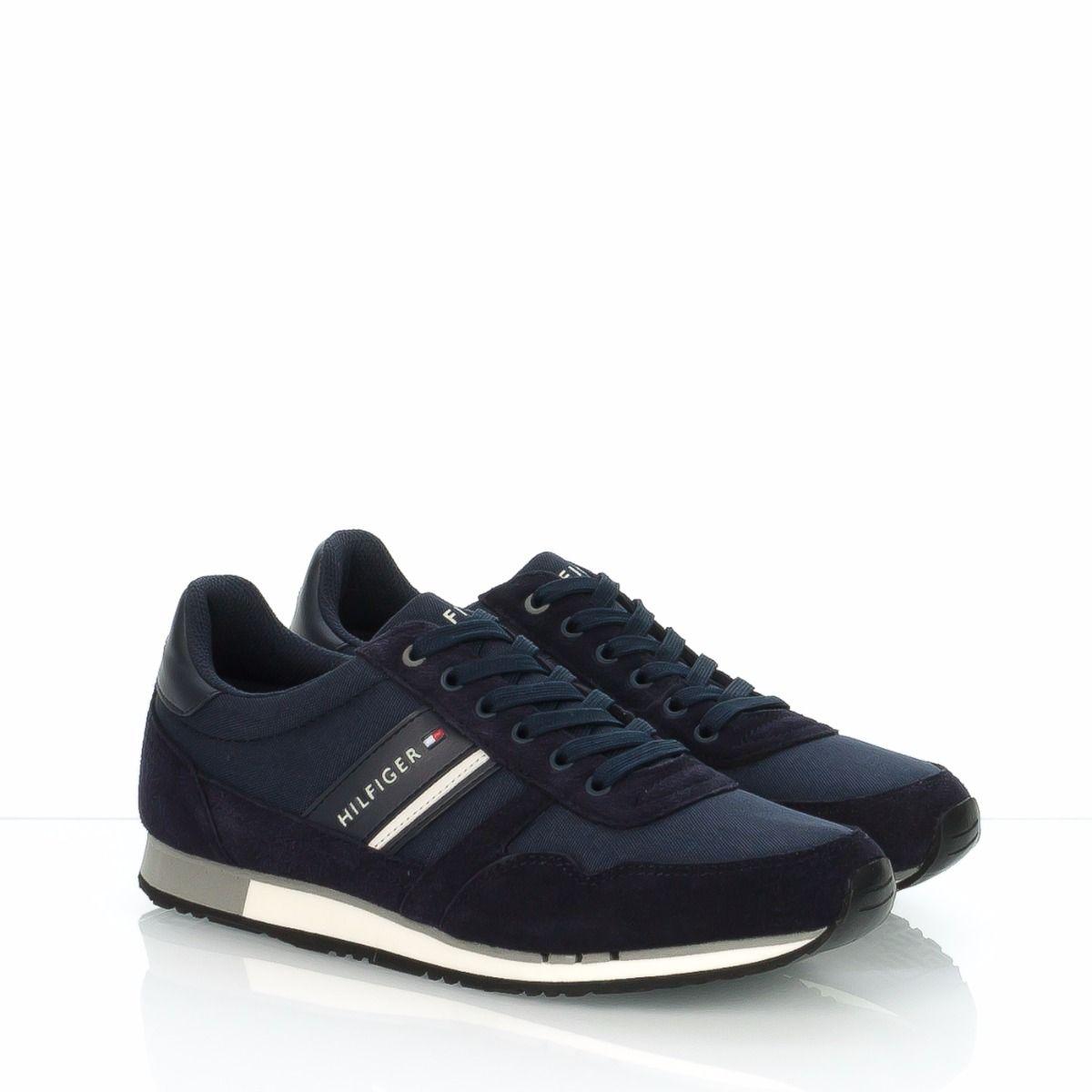 Scarpa sneakers da uomo TOMMY HILFIGER blu, zona Treviso