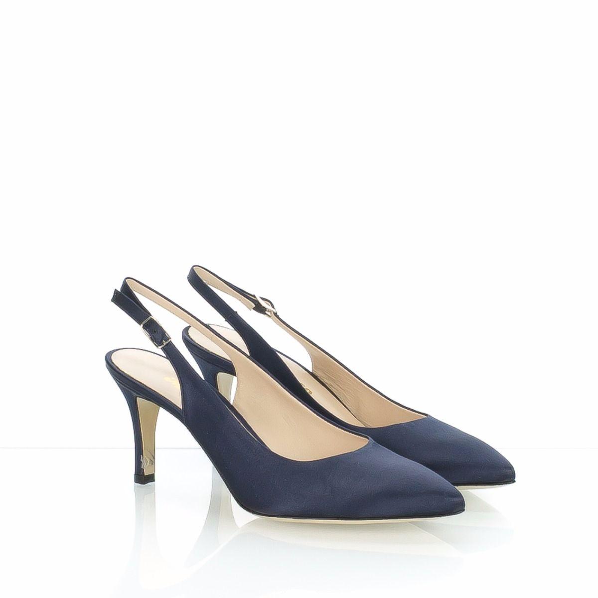 guarda bene le scarpe in vendita stile alla moda saldi SCARPA CHANEL DA DONNA IN RASO BLU DI MELLUSO, ZONA TREVISO
