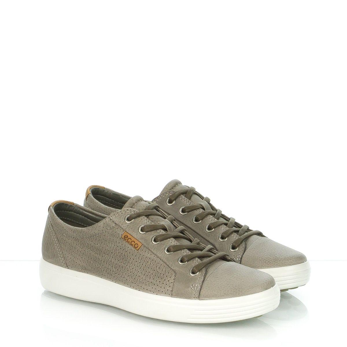 Forata 430104 Scarpe Sneaker Ecco Uomo Stringata Soft7 Pelle