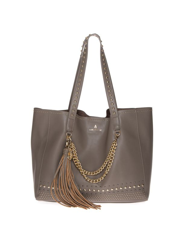 PASH BAG by L'ATELIER DU SAC SHOPPING BAG DONNA 10251 MEGAN TORTORA