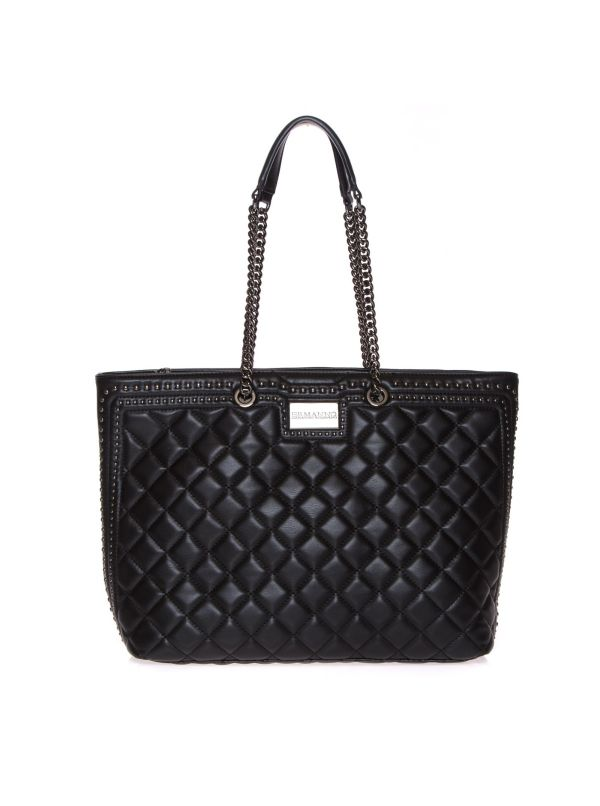 ERMANNO SCERVINO BORSA SHOPPING DONNA IVY 12401097 NERO