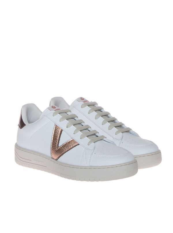 VICTORIA SIEMPRE 129103 SNEAKERS DONNA SIMILPELLE BIANCA