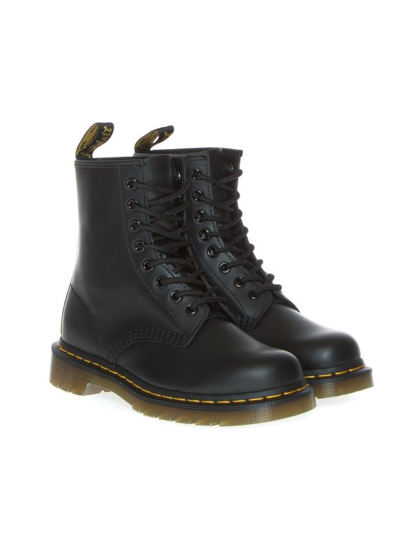 DR. MARTENS ANFIBIO DONNA 1460 SMOOTH NERO