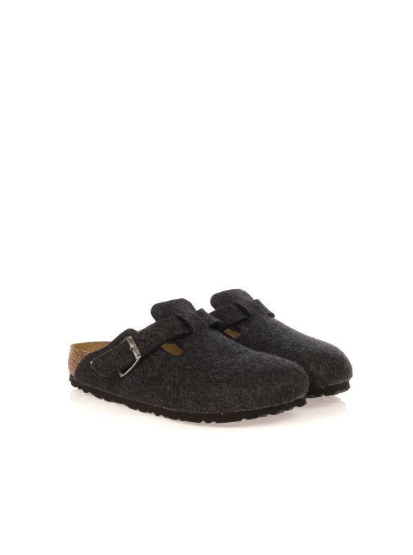 BIRKENSTOCK CIABATTA UOMO BOSTON 160373 ANTRACITE