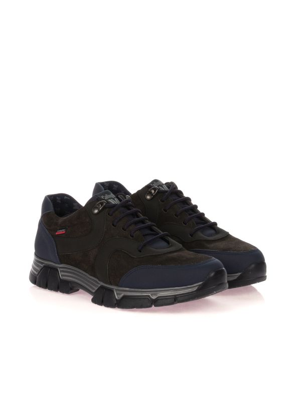 CALLAGHAN SNEAKERS UOMO 19801 CAMOSCIO MARRONE