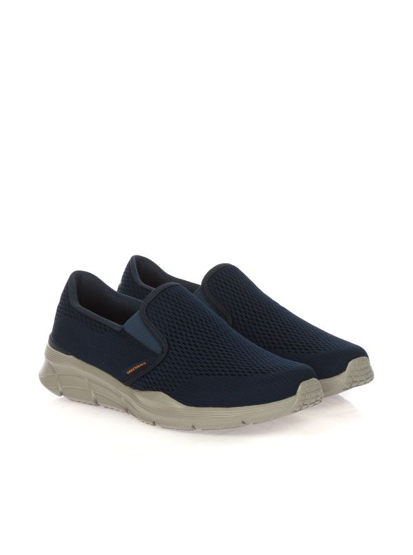 SKECHERS SCARPA SLIP-ON UOMO 232016-NVOR BLU
