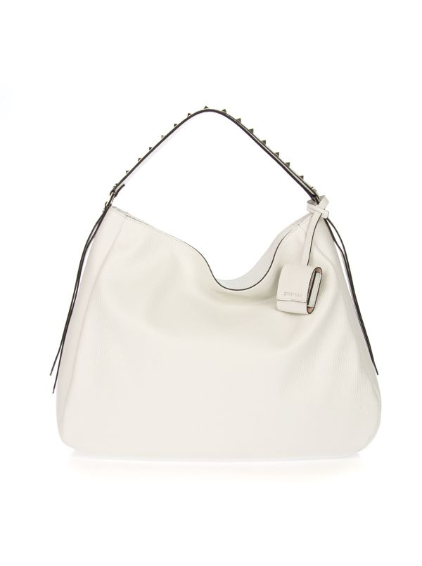 LORISTELLA SHOPPING BAG DONNA VALERY 2387R BIANCO