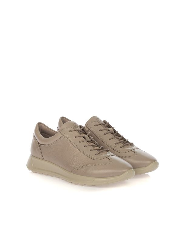 ECCO SNEAKERS DONNA 292333-1386 PELLE TAUPE
