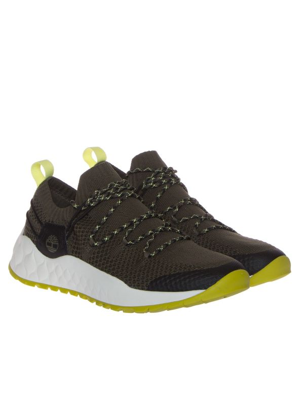 TIMBERLAND SOLAR WAVE A2DEH SNEAKERS UOMO MAGLIA VERDE