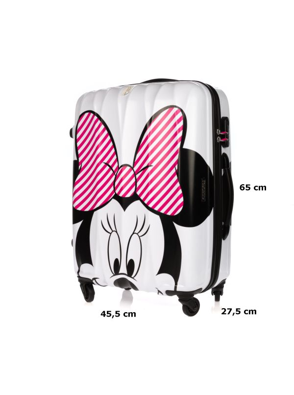 AMERICAN TOURISTER TROLLEY MEDIO 30C903 32 LIMITED DISNEY HYPERTWIST MINNIE