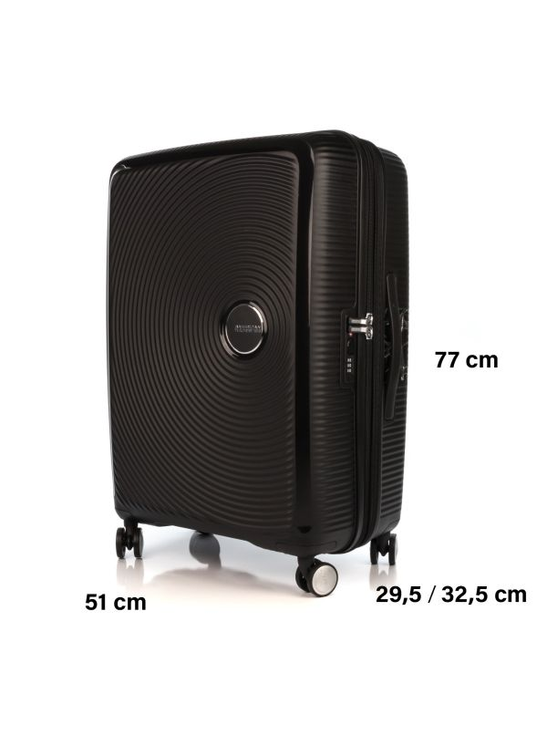 AMERICAN TOURISTER SOUNDBOX TROLLEY GRANDE 32G003-09 NERO