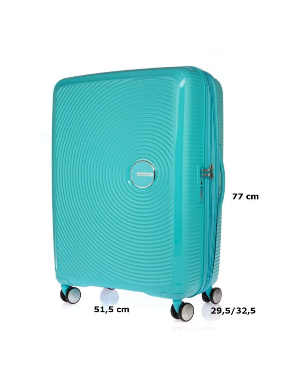 AMERICAN TOURISTER TROLLEY GRANDE 32G003-21 SOUNDBOX TURCHESE