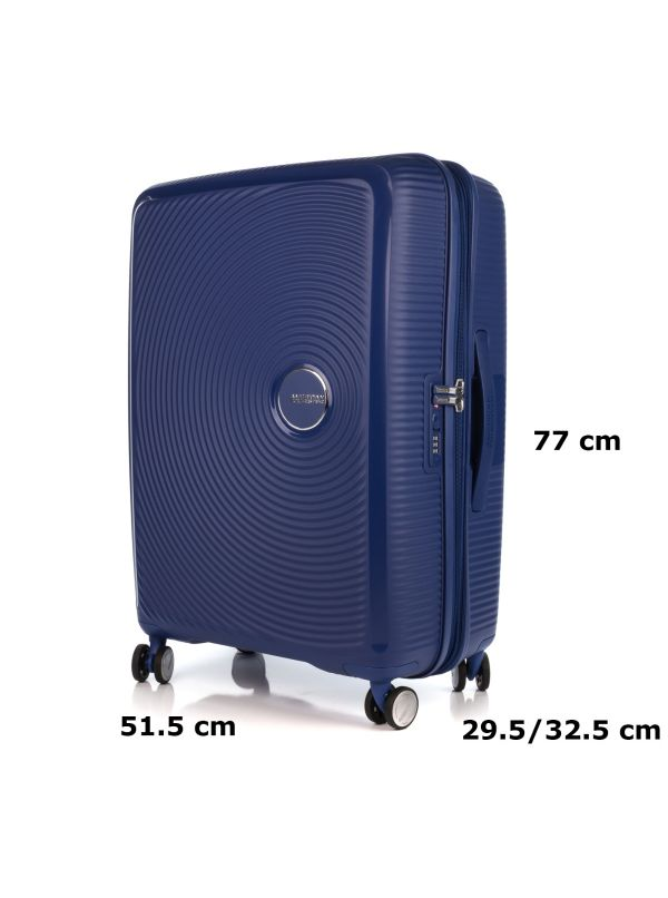 AMERICAN TOURISTER SOUNDBOX TROLLEY GRANDE 32G003-41 BLU