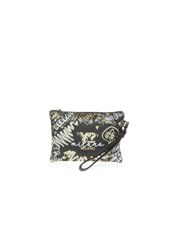 Y-NOT BUSTINA DONNA 342 GRAFFITI GOLD