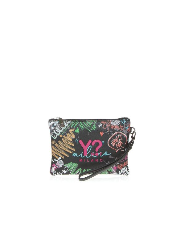 Y-NOT BUSTINA DONNA 342 GRAFFITI MULTICOLORE