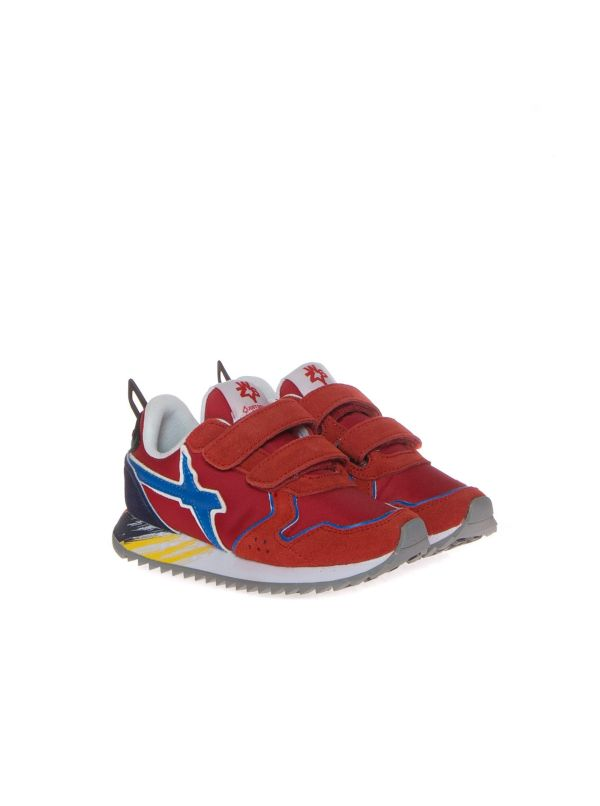 W6YZ WIZZ SNEAKERS BAMBINO 3567 1H02 ROSSO STRAPPO